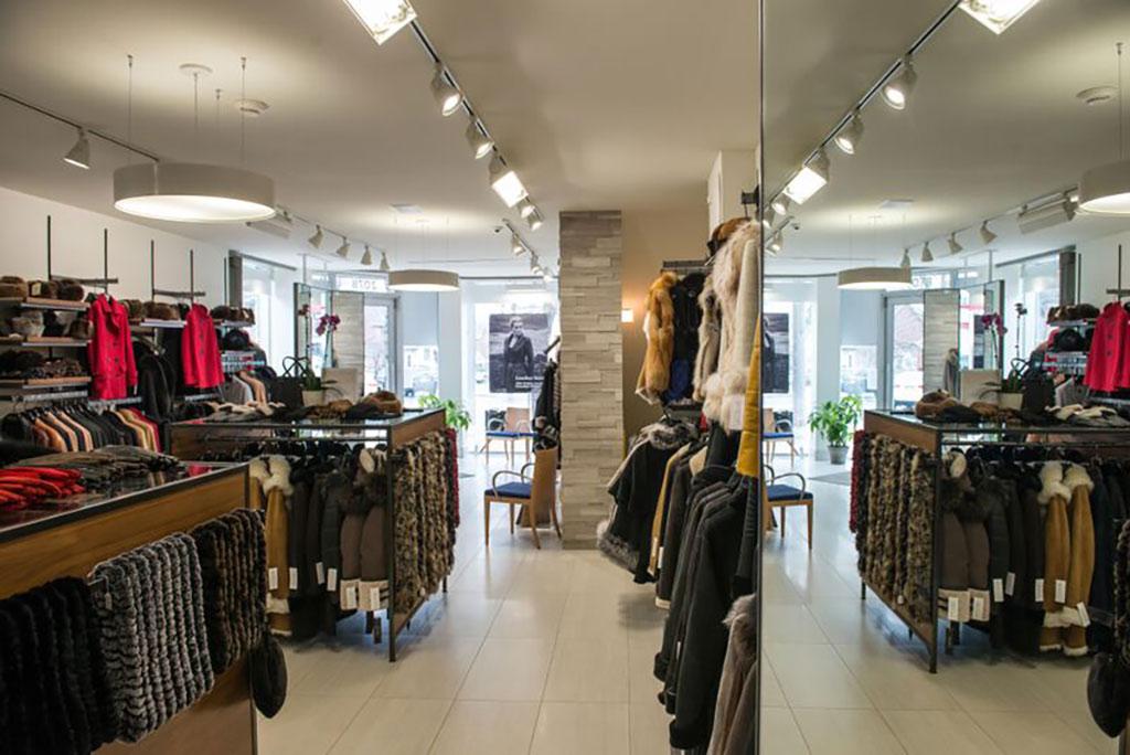 Kahnert's fur store in Toronto