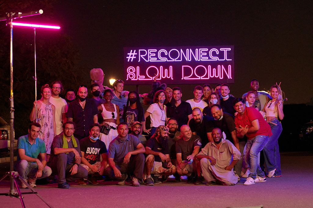 reconnect - slow down
