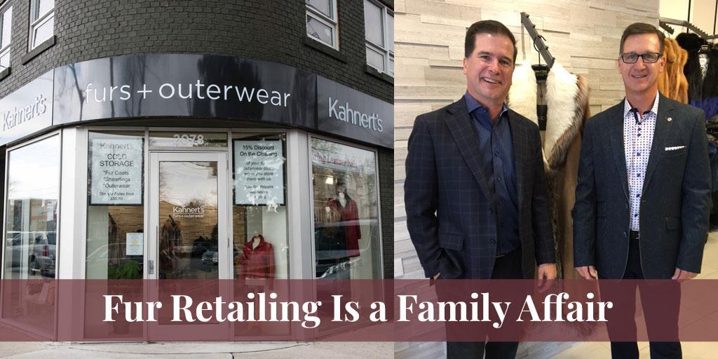 fur retailing is a family affair