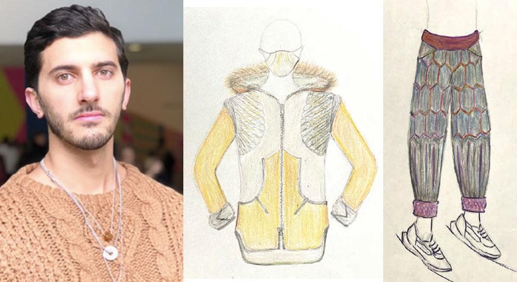 Ganadora del concurso de diseño de pieles Yassine Touati